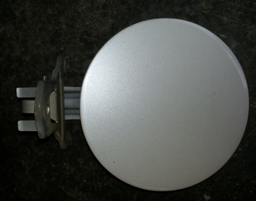 Fuel Door - White - With Lock - Grade B - WWW.TBSCSHOP.COM