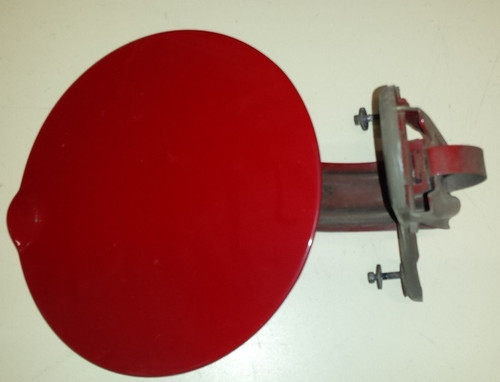 Fuel Door - Red - Without Lock  - Grade B - WWW.TBSCSHOP.COM