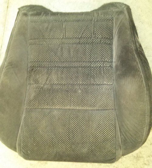Seat Front - Driver Side - Black Cloth - Seat Bottom  - 1989 - 1993 Thunderbird and Cougar - WWW.TBSCSHOP.COM