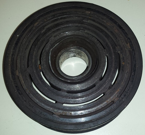 AC Compressor 8 rib pulley with bearing - 3.8L SC - 1989 - 1995 - Thunderbird and Cougar - WWW.TBSCSHOP.COM