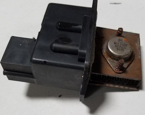 Auto Climate Blower Motor Fan Resistor 1989-1993 Thunderbird Cougar F1SH-19E624-AC