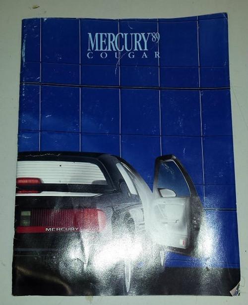 1989 Cougar XR7 Dealer Brochure - WWW.TBSCSHOP.COM