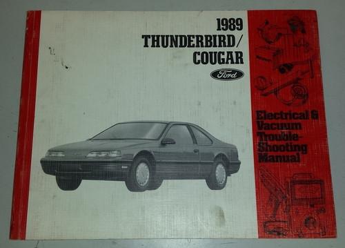 1989 Thunderbird  Cougar Electrical & Vacuum Manual - FPS-12116-89 - WWW.TBSCSHOP.COM