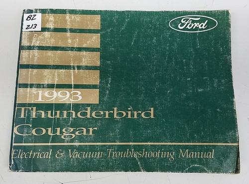 1993 Thunderbird  Cougar Electrical & Vacuum Manual - FPS-12116-93 - WWW.TBSCSHOP.COM