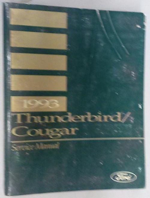 1993 Thunderbird  Cougar OEM Car Shop Manual - FPS-12196-93 - WWW.TBSCSHOP.COM