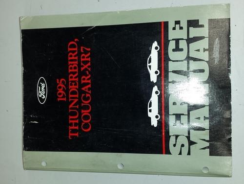 1995 Thunderbird  Cougar OEM Car Shop Manual - FCS-12196-95 - WWW.TBSCSHOP.COM