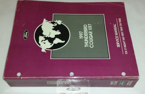 1997 Thunderbird  Cougar OEM Car Shop Manual - FCS-12196-97 - WWW.TBSCSHOP.COM
