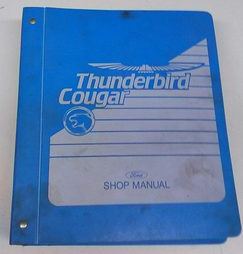 1989 Thunderbird Cougar Electrical & Vacuum and Service Manual Set - WWW.TBSCSHOP.COM