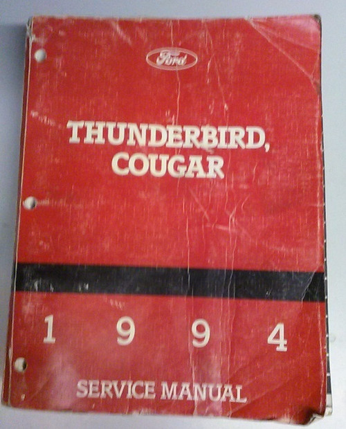 1994 Thunderbird Cougar Electrical & Vacuum and Service Manual Set - WWW.TBSCSHOP.COM