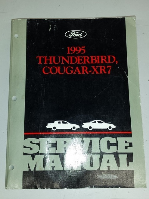1995 Thunderbird Cougar Electrical & Vacuum and Service Manual Set - WWW.TBSCSHOP.COM