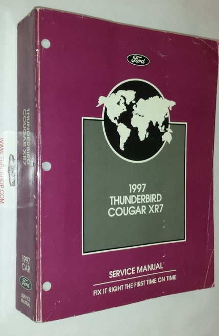 1997 Thunderbird  Cougar Electrical & Vacuum and Service Manual Set - WWW.TBSCSHOP.COM