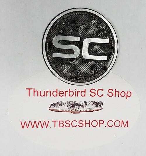 1989 - 1993 Thunderbird SC Steering Wheel Insert Horn Pad SC Badge - WWW.TBSCSHOP.COM