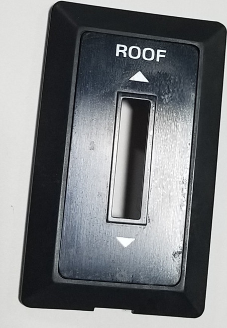 Sunroof Switch Trim Panel with Faceplate 1989 1990 Thunderbird Cougar