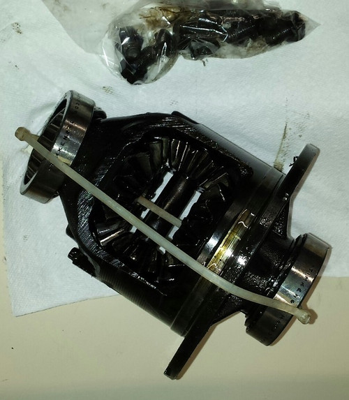 Differential - Open / Not limited slip - 8.8 inch rear end - WWW.TBSCSHOP.COM