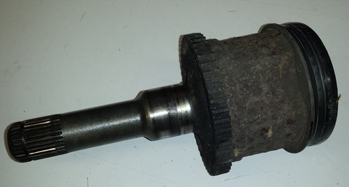 Half Shaft Stub with ABS Ring for use with 8.8 Inch Differential - 1989 - 1997 Thunderbird and Cougar - WWW.TBSCSHOP.COM