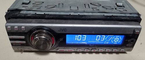 JVC KD-G420 CD/MP3/AM/FM Player with OEM Wire Harness - WWW.TBSCSHOP.COM