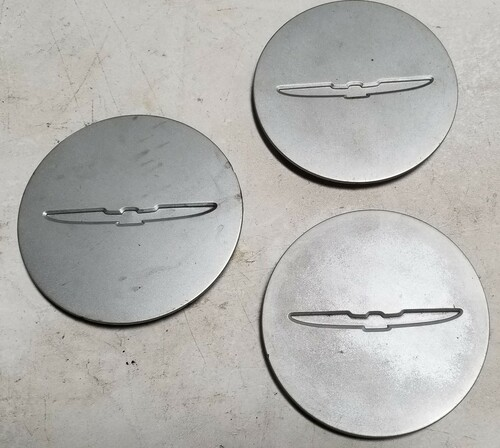 Wheel Cap Insert Set of Three 1993 1994 1995 1996 1997 Thunderbird Grade B