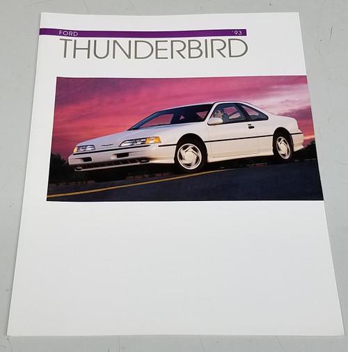 1993 Thunderbird Sales Brochure - WWW.TBSCSHOP.COM