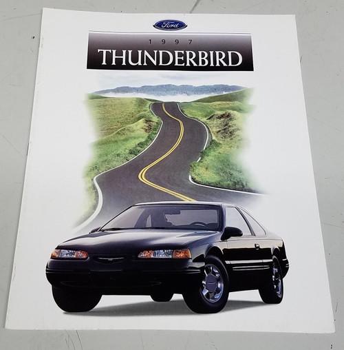 1997 Thunderbird Sales Brochure - WWW.TBSCSHOP.COM