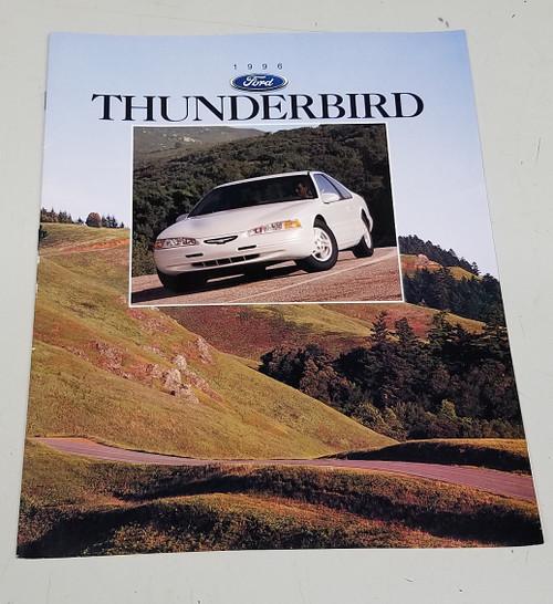 1996 Thunderbird Sales Brochure - WWW.TBSCSHOP.COM