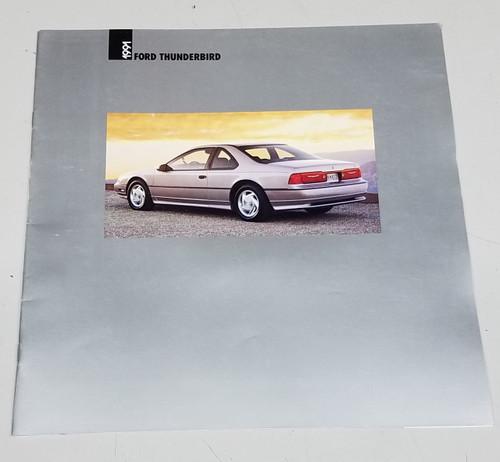 1991 Thunderbird Sales Brochure - WWW.TBSCSHOP.COM