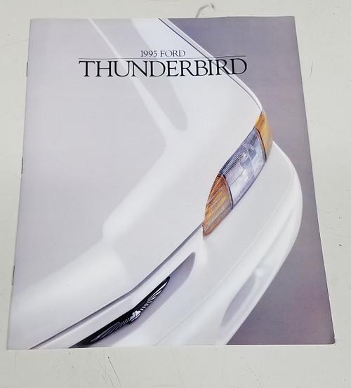 1995 Thunderbird Sales Brochure - WWW.TBSCSHOP.COM