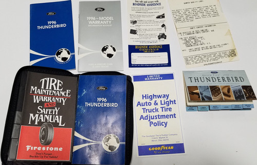 1996 Thunderbird Owners Manual Collection