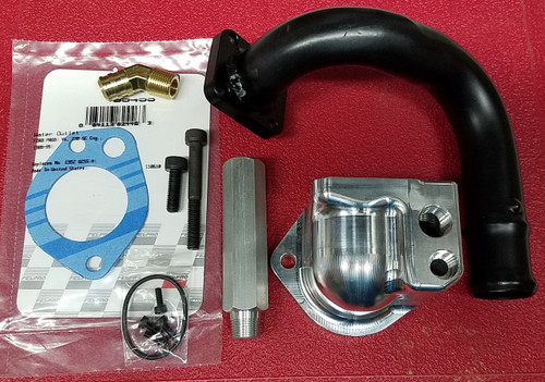 1989 - 1995 Thunderbird SC Billet Thermostat Thermostat Housing - 3.8L SC  WWW.TBSCSHOP.COM