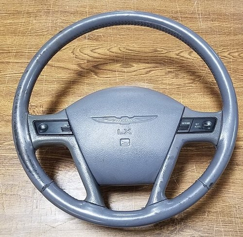 1989 - 1993 Thunderbird Steering Wheel - LX - Gray - WWW.TBSCSHOP.COM