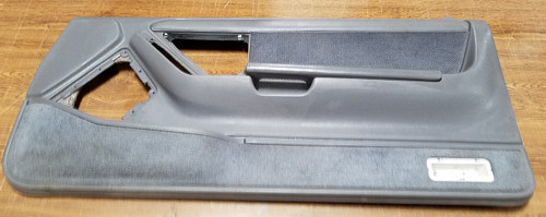 1991 - 1993 Thunderbird Cougar Door Panel - Gray - Passenger - Cloth Insert - WWW.TBSCSHOP.COM