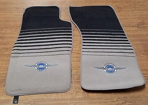 1990 35th Anniversary Thunderbird Floor Mat Set - OEM NOS - WWW.TBSCSHOP.COM