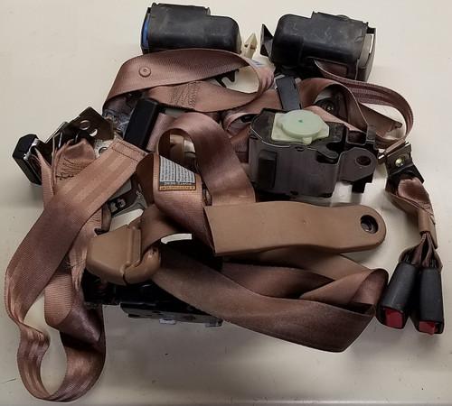 Seat Belt Set - Tan / Saddle - 1996 - 1997 - WWW.TBSCSHOP.COM