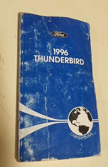 1996 Thunderbird Owners Manual - WWW.TBSCSHOP.COM