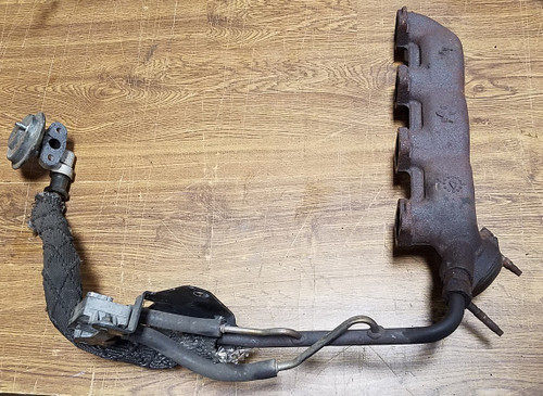 1996 - 1997 Thunderbird and Cougar Exhaust Manifold with EGR Valve and Tube - 4.6L SOHC - WWW.TBSCSHOP.COM