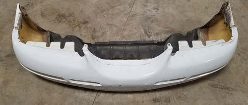 1996 1997 Mercury Cougar Front Bumper Cover White