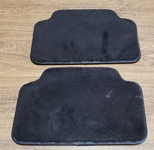 1993-1998 Lincoln Mark VIII Rear Floor Mats - Black