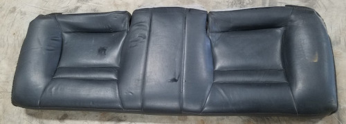 1993 1994 1995 1996 Lincoln Mark VIII Rear Seat Bottom Cushion Black Leather