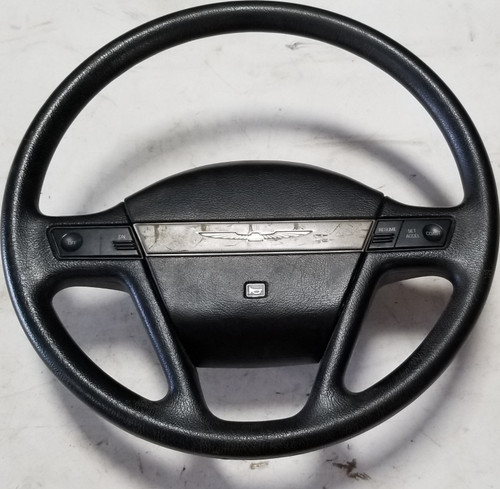1989-1991 Thunderbird Steering Wheel LX Black Grade C