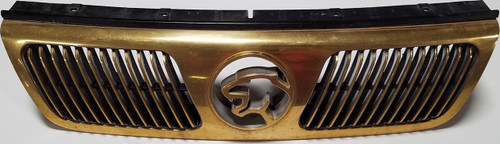 1994 1995 Mercury Cougar Gold Hood Grill with Emblem