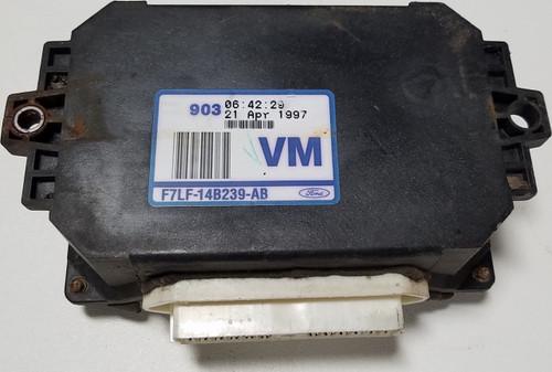 1997 1998 Lincoln Mark VIII Fan Control Module F7LF-14B239-AB  CCRM VLCM VCRM