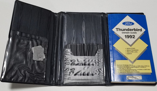 1992 Thunderbird Owners Manual Collection