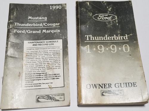1990 Thunderbird Owners Manual