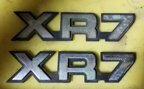 1989 1990 1991 1992 1993 Mercury Cougar XR7 Trunk Emblem