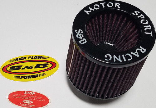 1989-1997 Thunderbird Cougar S&B Motorsports Racing High Flow Cone Power Reusable Filter