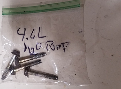 1993-1998 Thunderbird Cougar Mark VIII 4.6L Water Pump Bolt Set