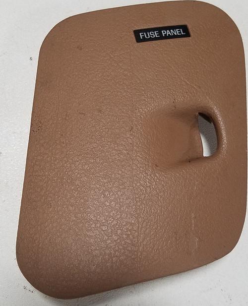1993 - 1996 lincoln mark viii - fuse door tan