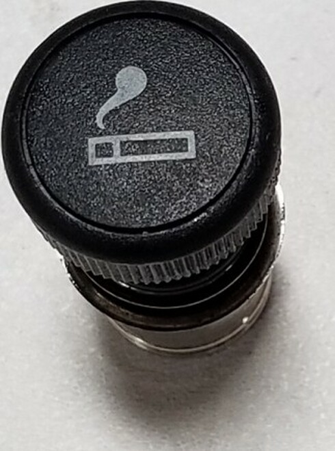 Cigarette Lighter Push Button with Emblem 1989-1997 Thunderbird Cougar