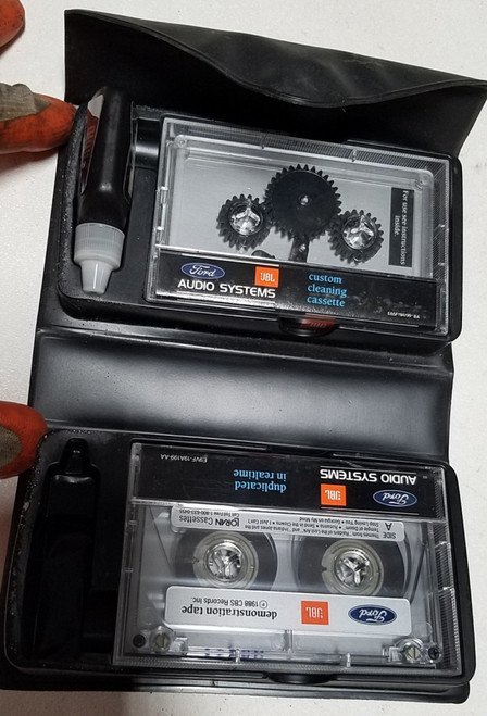 JBL Original Tape Cleaner Kit 1989-1998 Thunderbird Cougar Mark VIII