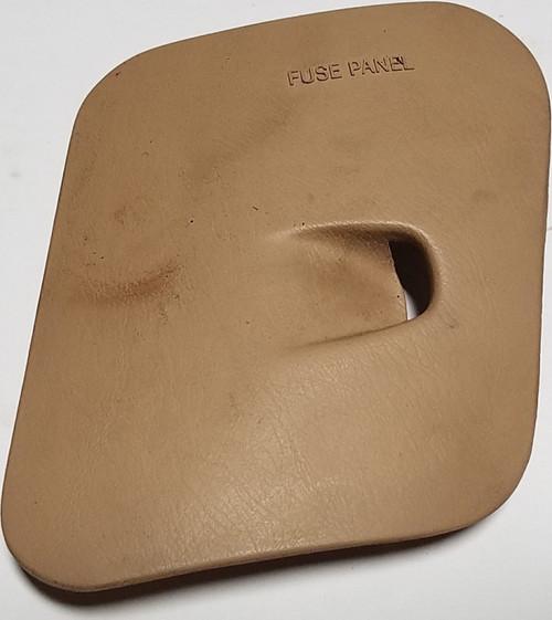 1997 1998 Lincoln Mark VIII Fuse Box Cover Light Prairie Tan