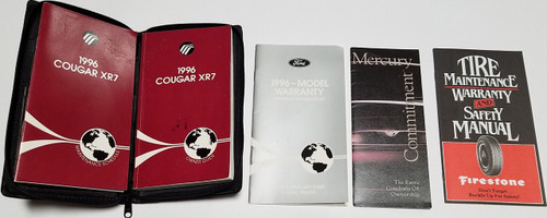 1996 Mercury Cougar  XR7 Owners Manual  Collection